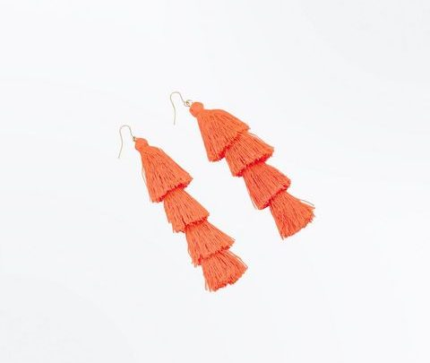 shoulder duster earrings, 6.99E @ New Look