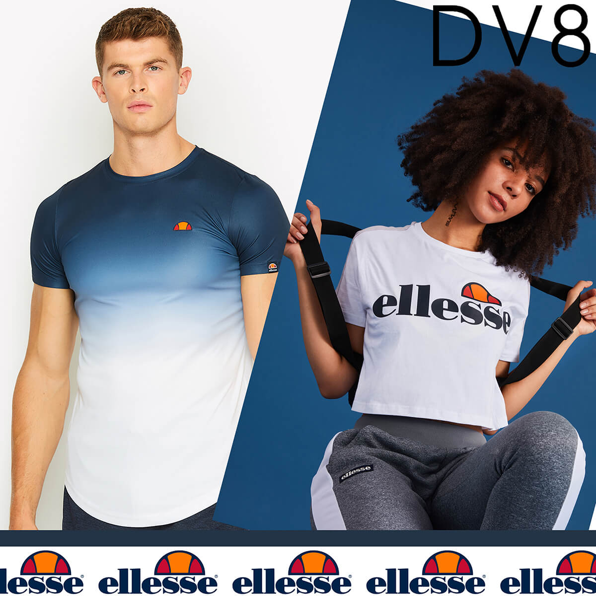 New Season ELLESSE available at DV8 in Marshes Shopping Centre