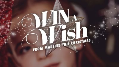 Win a Wish This Christmas at Marshes Shopping Centre!