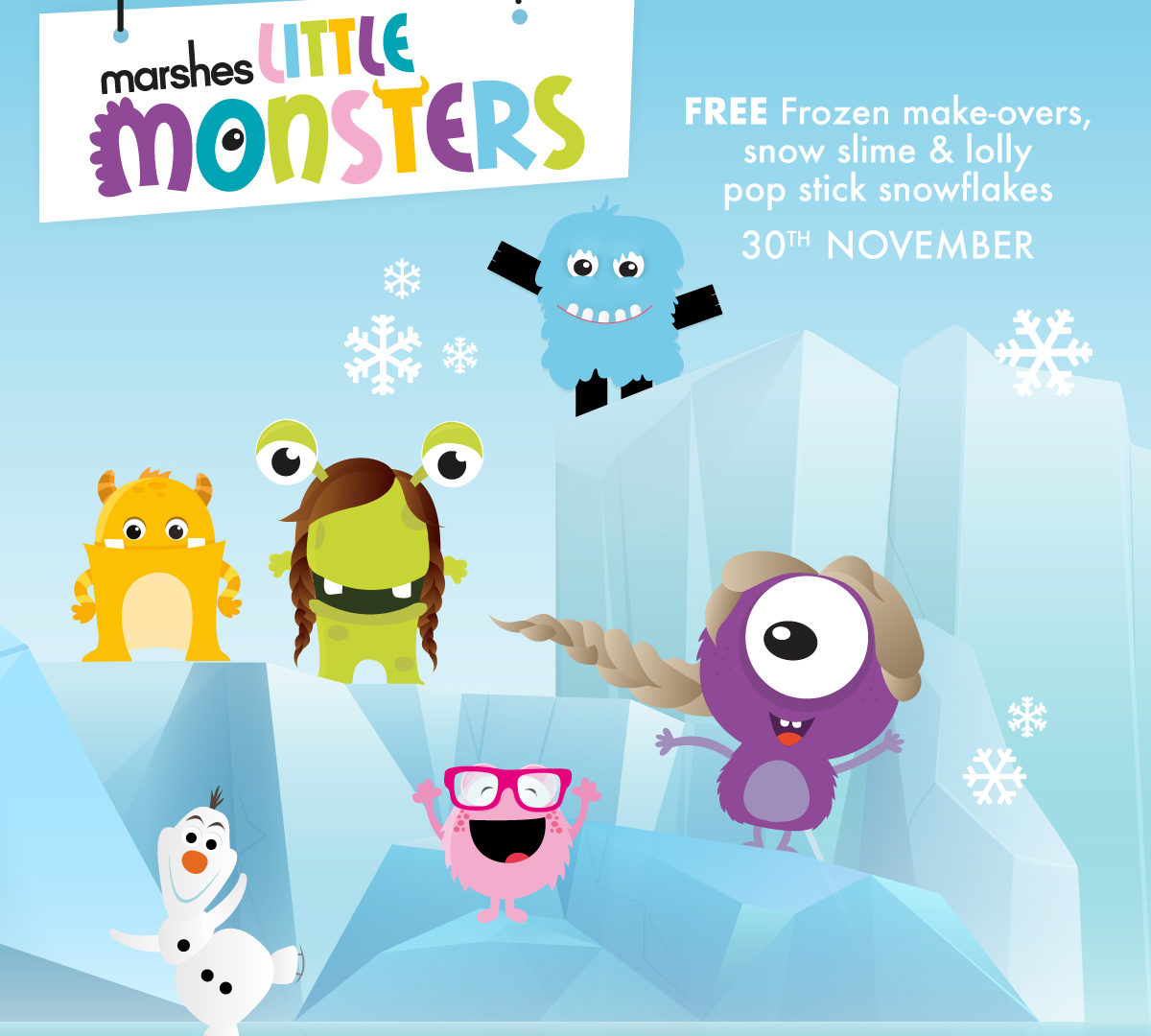 6694   Marshes Little Monsters   Frozen social post v1 MED