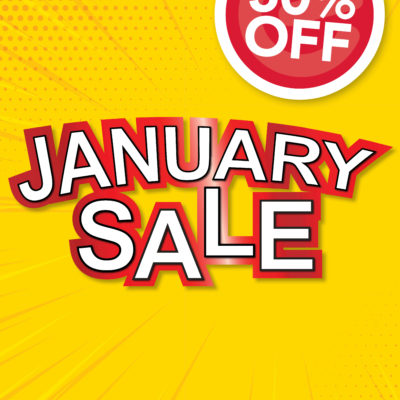514 2020 January Sale A0 Poster 50% Off
