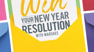 WIN your 2020 New Year's Resolution with Marshes!