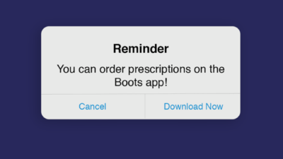 Prescriptions Can Be Ordered Through the Free Boots App