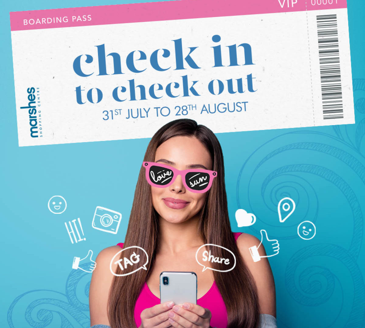 7112 Marshes July   Checkin:out   FB promo post 1