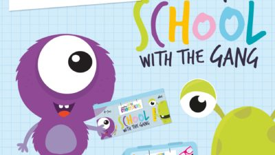 FREE GIFTS for Back to School with Marshes Little Monsters!
